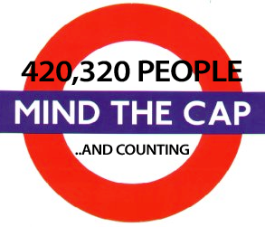 420,320 People Mind The Cap... And Counting